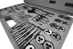 Dados y kit de los golpecitos Foto de archivo libre de regalías