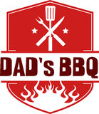 Dads BBQ Stock Image