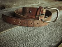 Dads Belt Royalty Free Stock Photo