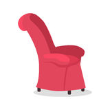 Dads Favourite Arm Chair. Fathers Place in House. Royalty Free Stock Photography