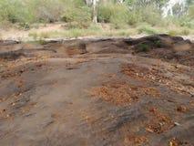 Daduru oya rock. Deduru oya rock from kurunegala royalty free stock images