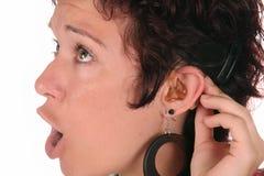Dae (dispositivo automático de entrada) de audição Imagens de Stock