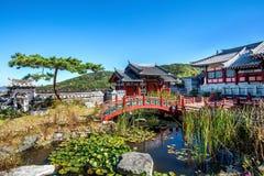 Dae Jang Geum Park ou drame historique coréen en Corée photos libres de droits