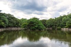 Daechundangji pond in seoul Stock Photography