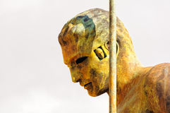 Daedalus by Igor Mitoraj - Agrigento Royalty Free Stock Images