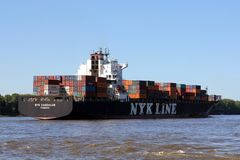 DAEDALUS from NYK LINE Stock Photography