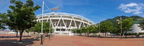 Daegu-Stadion, früher genannt Daegu World Cup Stadium lizenzfreies stockfoto