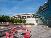 Daegu-Stadion, früher genannt Daegu World Cup Stadium stockbilder