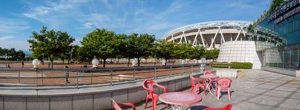 Daegu-Stadion, früher genannt Daegu World Cup Stadium lizenzfreie stockfotos