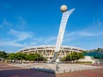Daegu-Stadion, früher genannt Daegu World Cup Stadium stockbild