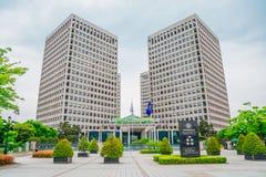 Daejeon Government Complex in Korea. Daejeon, Korea - May 8, 2015 : Daejeon Government Complex Royalty Free Stock Photo