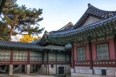 Daejojeon w Changdeokgung pałac fotografia stock
