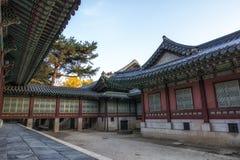 Daejojeon w Changdeokgung pałac obraz stock