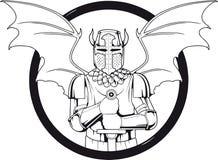 Daemon logo Stock Photography