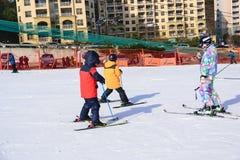 Daemyung Vivaldi Park ski resorts Stock Photos