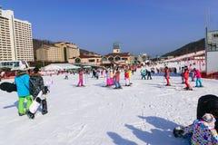 Daemyung Vivaldi parka ośrodki narciarscy Obrazy Royalty Free