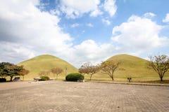 Daereungwon Tomb park in Gyeongju, Korea - Seires 2 Royalty Free Stock Photography