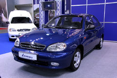 Daewoo Lanos Royalty Free Stock Photo