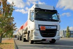 DAF-het CF Euro 6 Tankervrachtwagen Stock Afbeeldingen