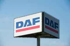 DAF sign Royalty Free Stock Image