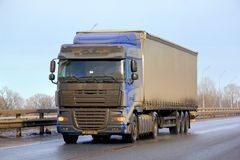 DAF XF Royalty Free Stock Photo