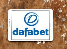 Dafabet网上赌博的公司商标 图库摄影