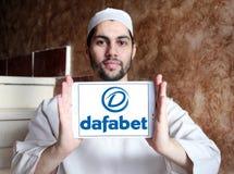 Dafabet online het gokken bedrijfembleem Stock Fotografie