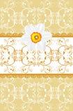 ανασκόπηση daffodil διακοσμητική Στοκ Φωτογραφία