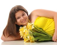 Daffodil Beauty Stock Photos