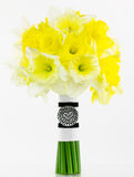 Daffodill bride bouquet Royalty Free Stock Photography