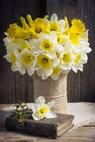 Daffodils bouquet royalty free stock photography