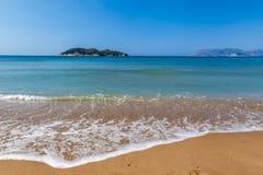 Dafni beach, zakynthos island Royalty Free Stock Photos