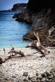 Dafnoudi beach Stock Image