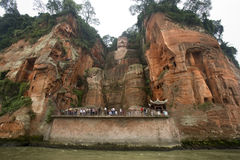 Dafo Buddha - Leshan - China stockbilder