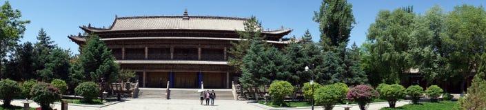 Dafo temple. ZHANGYE, CHINA - CIRCA MAY 2017  Dafo temple Royalty Free Stock Photography