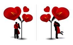 Dag 05 van de valentijnskaart Stock Foto's