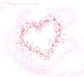 Dag 1 van de valentijnskaart Royalty-vrije Stock Foto's