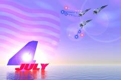 Dag aan onafhankelijkheid stock illustratie