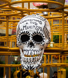 Dag av Döden Diameter de los Muertos Garnering - Mexico - stad, Mexico Fotografering för Bildbyråer