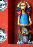 Dag av den döda Catrina statyetten Arkivbild