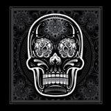 Dag av den döda godisskallen royaltyfri illustrationer
