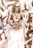 Dag av den döda statyetten royaltyfri bild