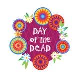 Dag av den döda traditionella mexicanska allhelgonaaftonen Dia De Los Muertos Holiday Party Arkivbild