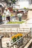 Dag av det avlidet i kyrkogården av Consolacao arkivbilder