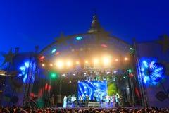 Dag av Europa i Ukraina 2015 Arkivbild