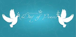 Dag av fred vektor illustrationer
