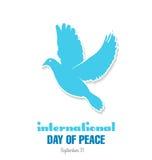 Dag av fred royaltyfri illustrationer