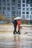 Dag av regn Arkivfoton