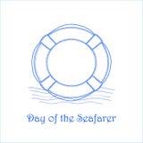Dag av Seafaryen vektor illustrationer