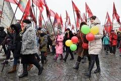 Dag av självständighet av Litauen Fotografering för Bildbyråer